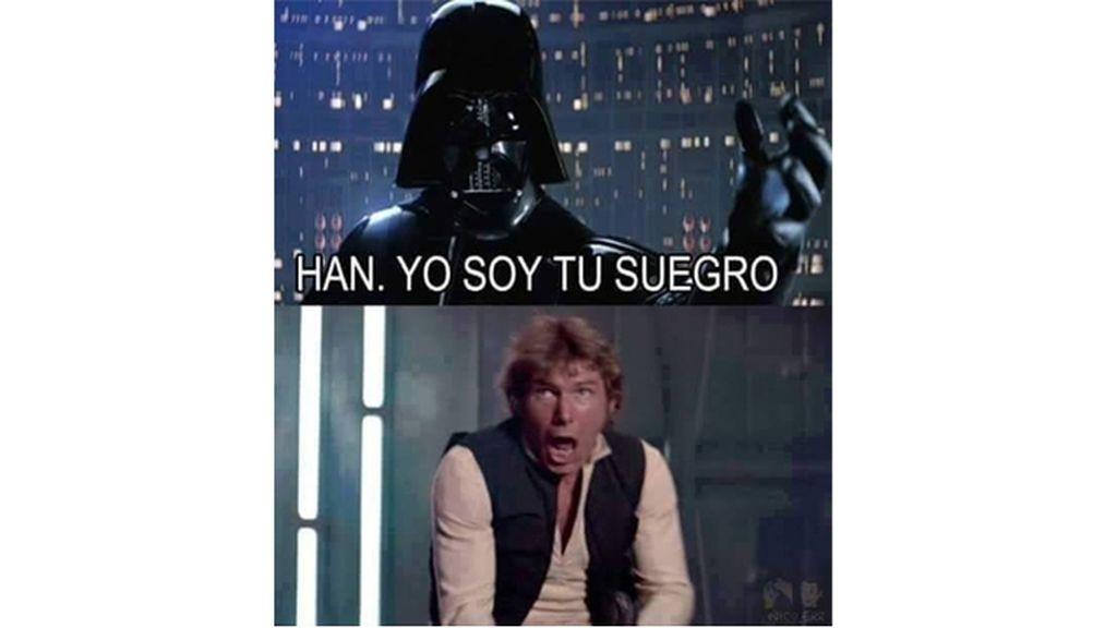 """Han, yo soy tu suegro"""