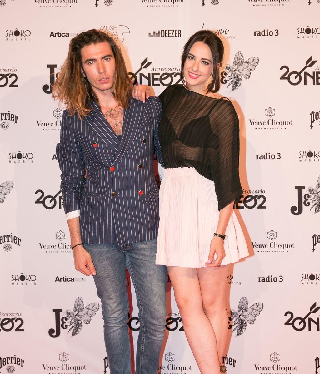 Jorge Parra y Laura Put en el 'photocall'