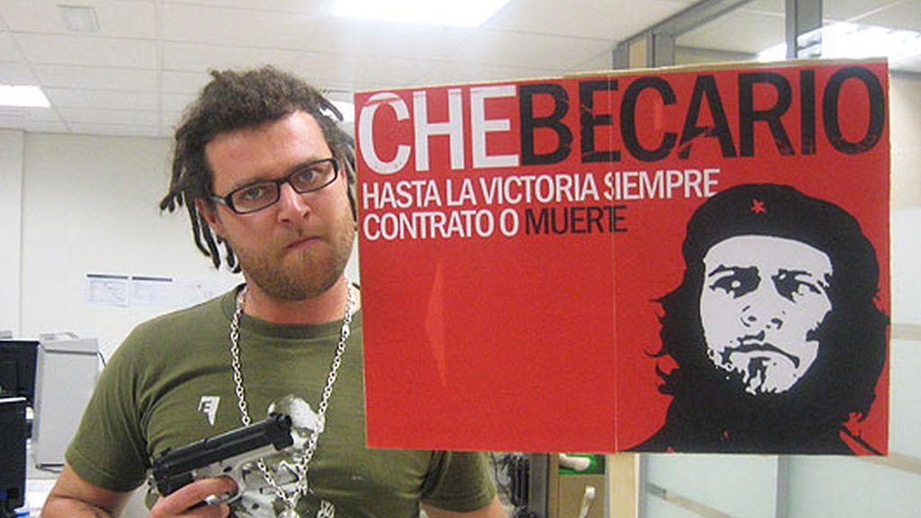 El Ché Becario revoluciona la redacción