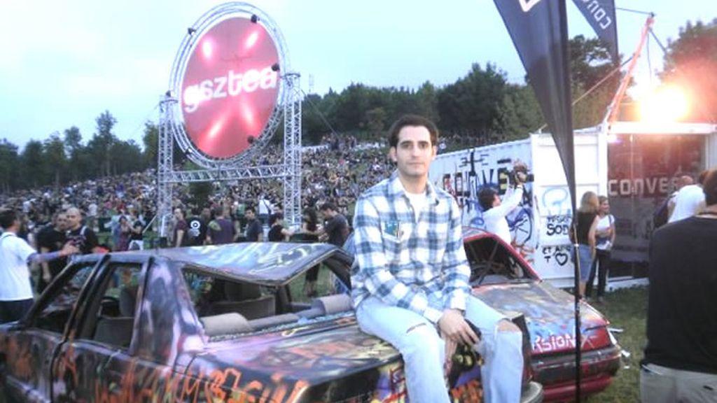 José Melón Álvarez, agraciado con un abono para el BBK Live 2010 por la web de Cuatro