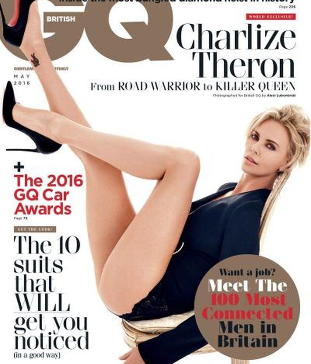 Charlize Theron para GQ