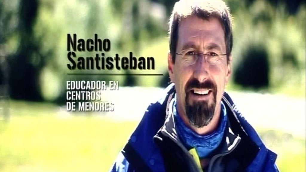 Nacho Santisteban, el pacificador