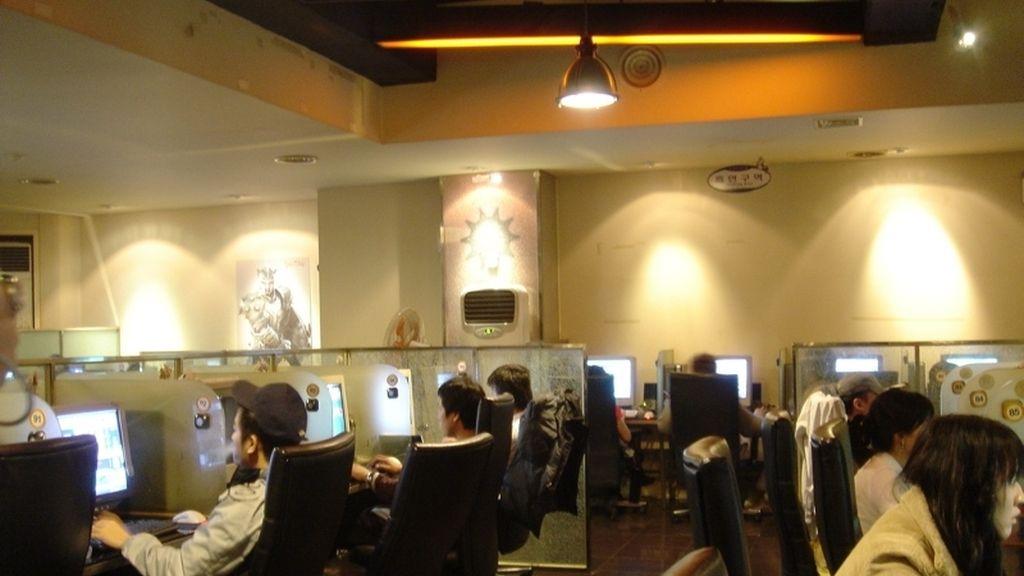 Corea, videojuegos, cyber, Estadio Gamer