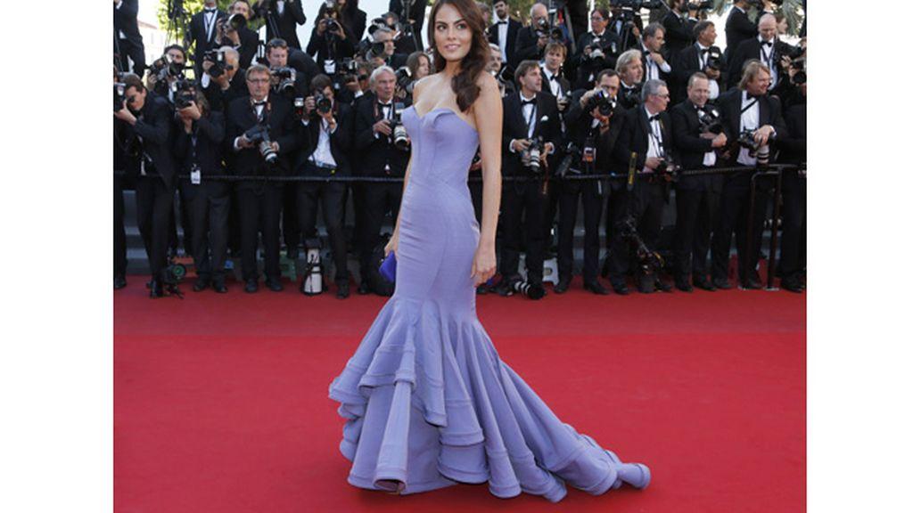 Ximena Navarrete, Miss Universo 2010, en Cannes