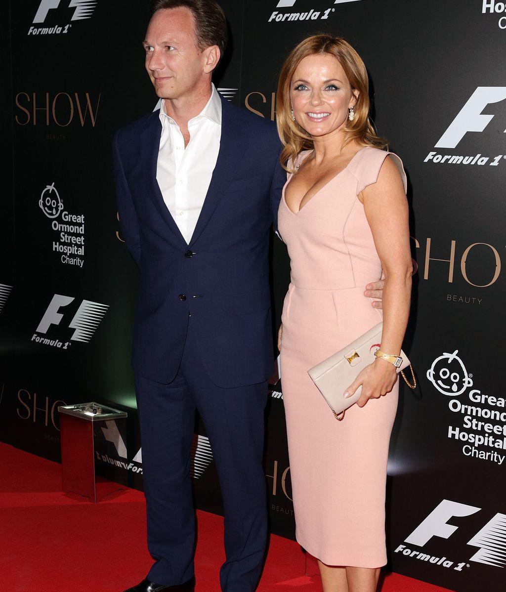 Geri Halliwell y Christian Horner el director del equipo de F1 Red Bull se casan