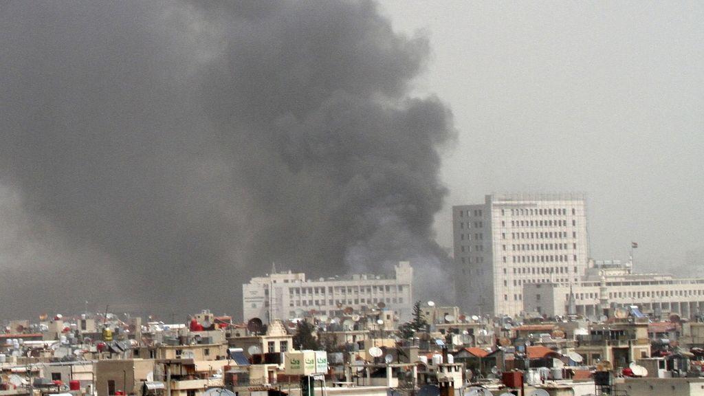 Al menos 15 muertos tras la explosión de un coche bomba en Damasco