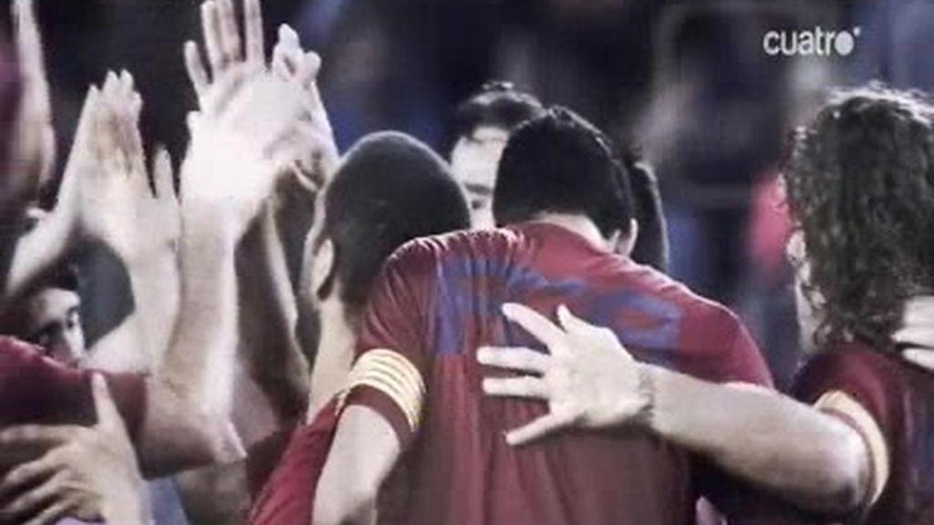 Sin Messi, Villa es el referente