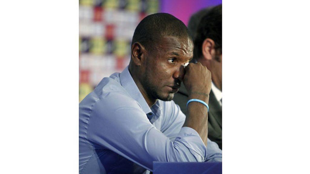 Éric Abidal se despide del FC Barcelona
