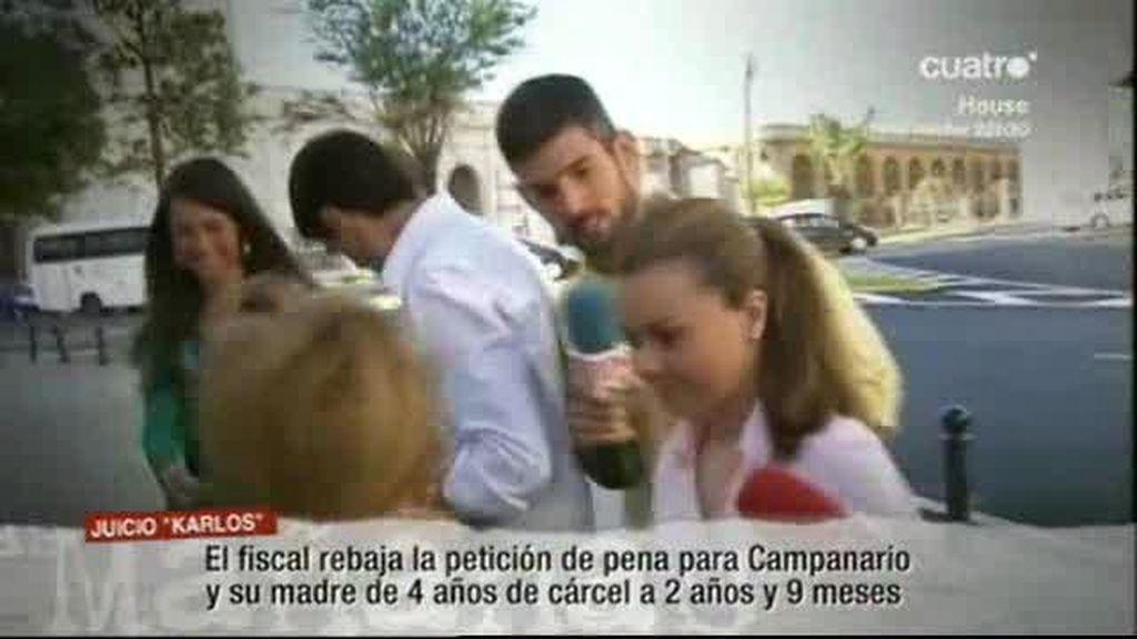 Reducen la pena de Mª José Campanario