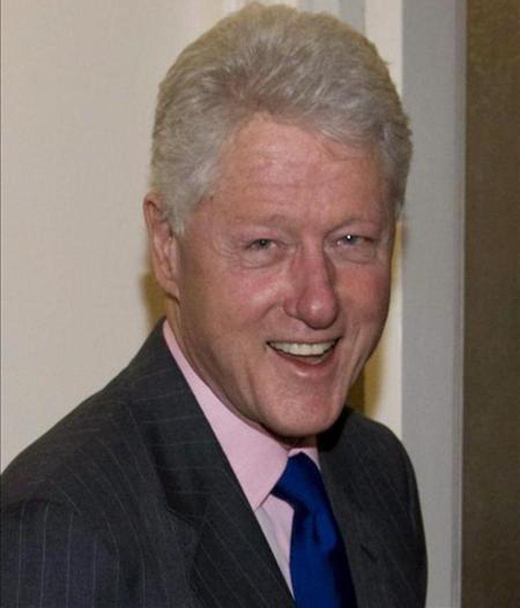 El ex presidente estadounidense Bill Clinton. EFE/Archivo