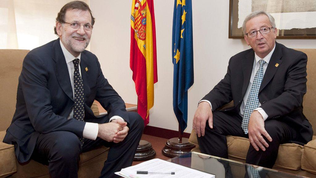 Rajoy se entrevista con Juncker en Bruselas