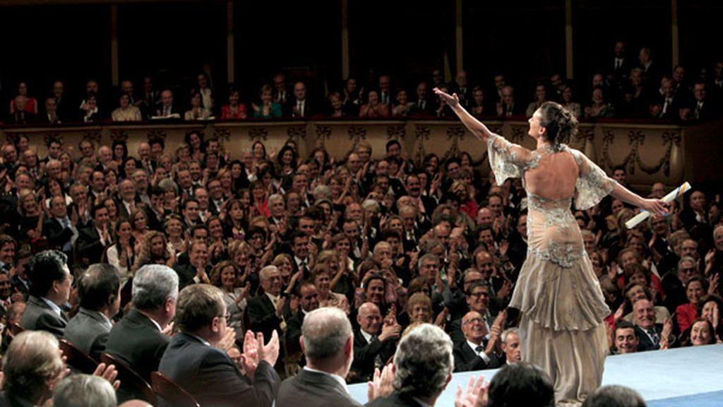 Yelena Isinbayena, Premio Príncipe de Asturias de los deportes 2009