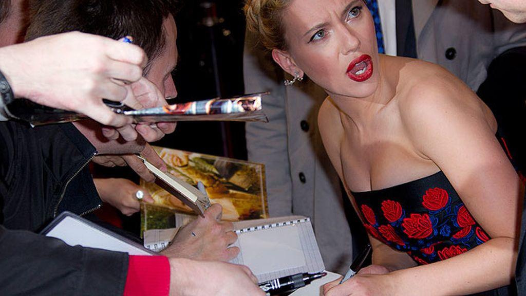 Scarlett Johansson siempre gana el 'match point'