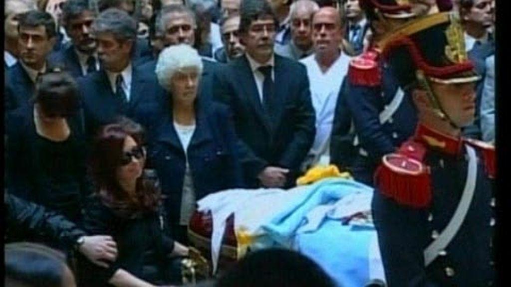 El último apoyo a la familia Kirchner