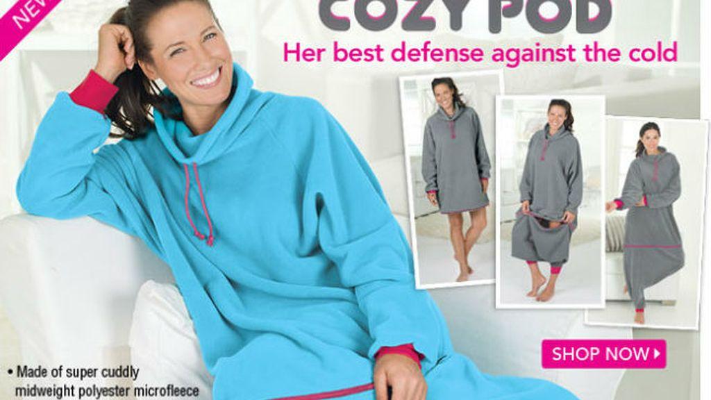 Cozy Pod, el pijama-camisón que está causando sensación entre las famosas