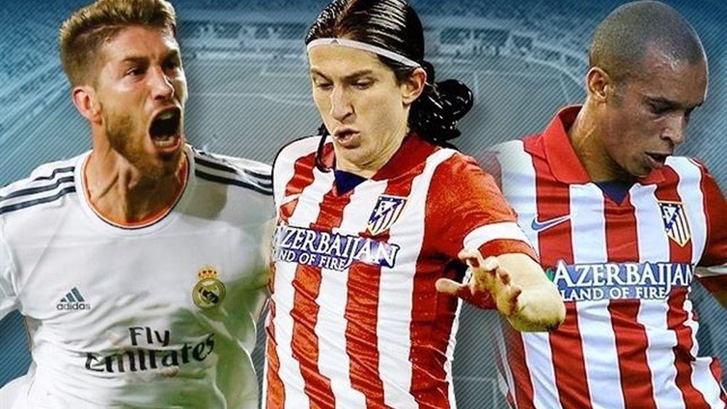 Sergio Ramos, Filipe Luis y Miranda, nominados a Mejor Defensa de la Liga 2013-14