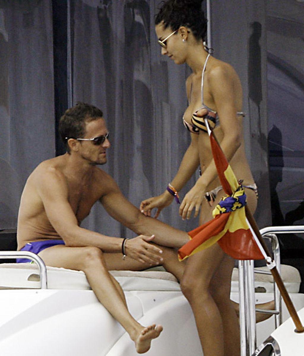 Sete Gibernau y Laura Barriales, amor a todo gas