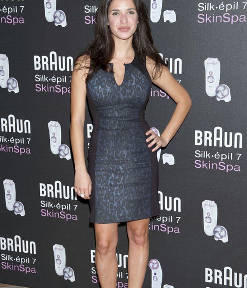 Paula Prendes, con un ajustadísimo vestido