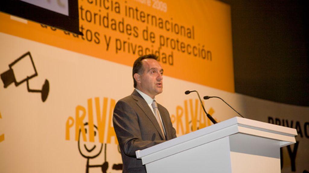 El director de la Agencia Española de Protección de Datos, Artemi Rallo