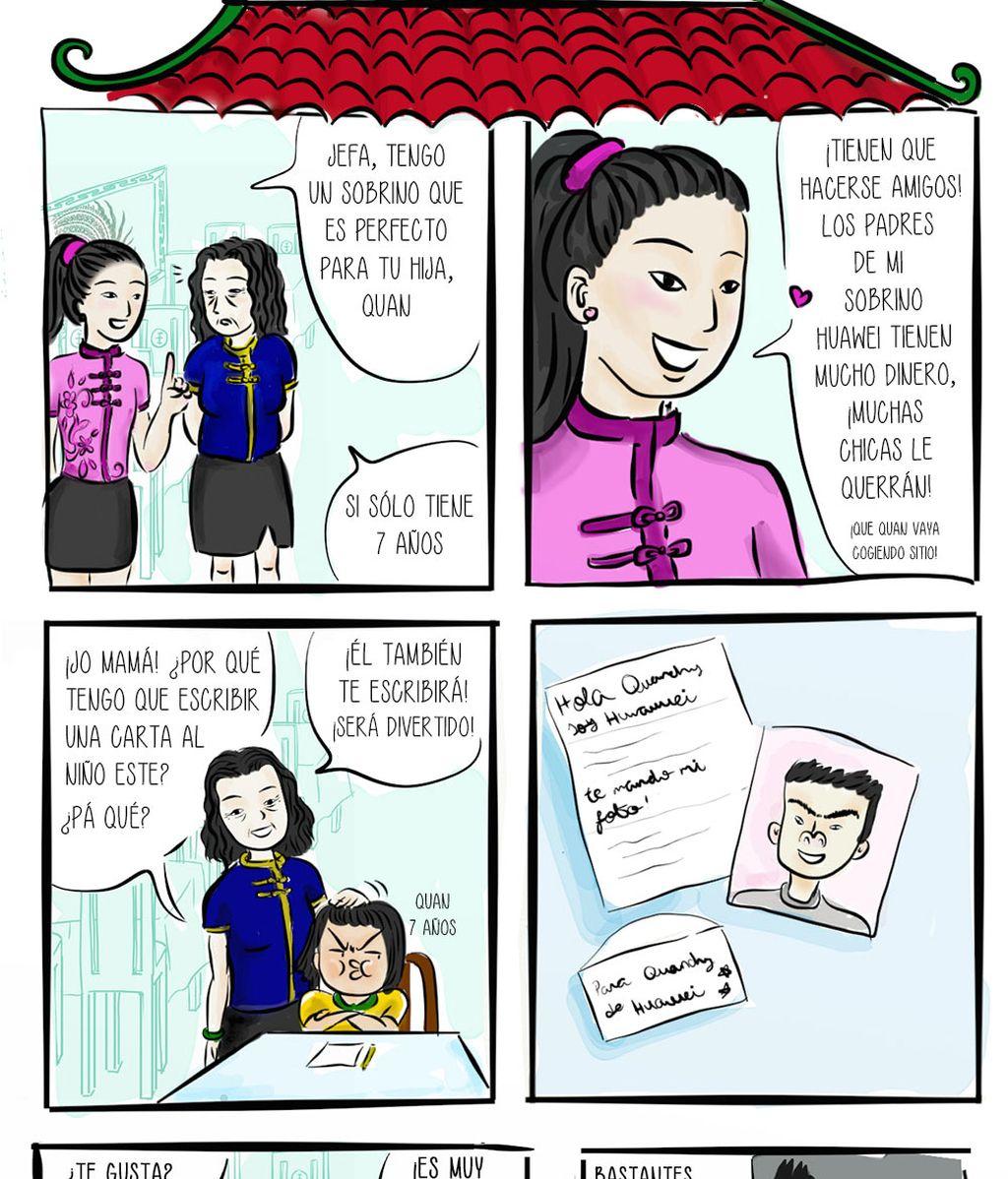 4. Historias del restaurante chino