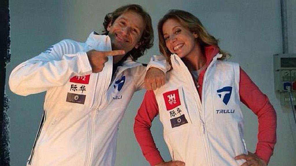 Trulli: Jarno Trulli y Michela Cerruti