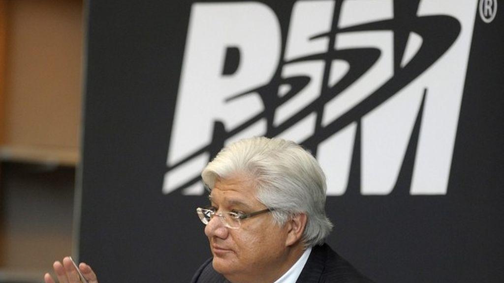 Imagen de archivo del CEO de RIM, Mike Lazaradis