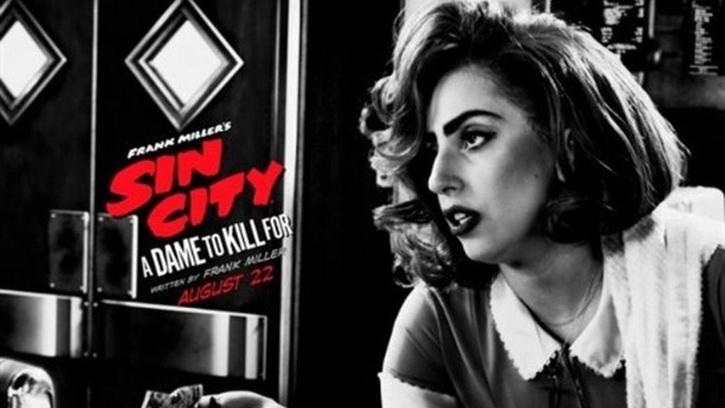 Lady Gaga protagoniza el nuevo póster de la película 'Sin City 2'