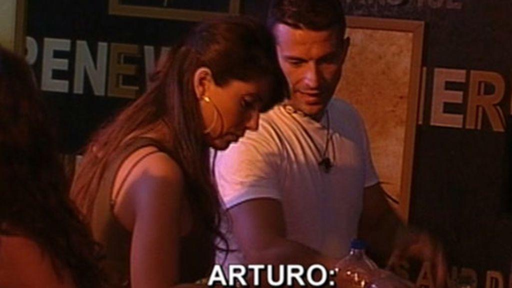 La 'noche de autos' entre Carol y Arturo