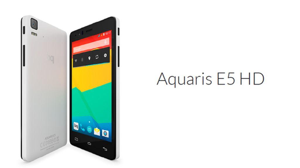 bq presenta su nuevo móvil Aquaris E5 4G y su primera tableta Aquaris E10