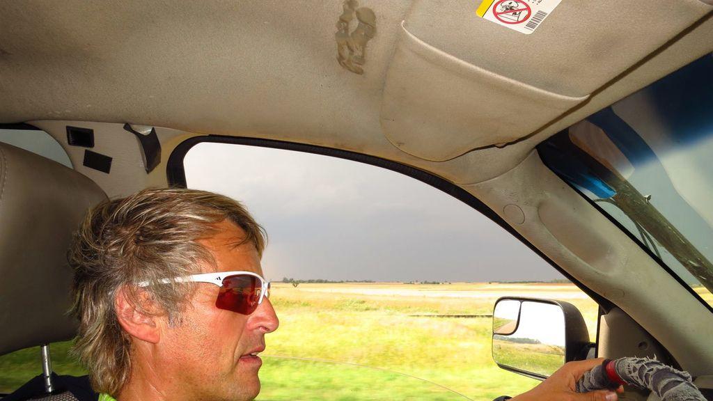 Los daños tras un tornado