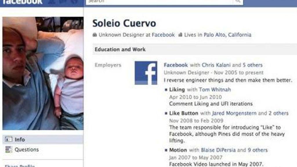 Soleio Cuervo: Fue estudiante de Harvard y amigo de varios de los fundadores