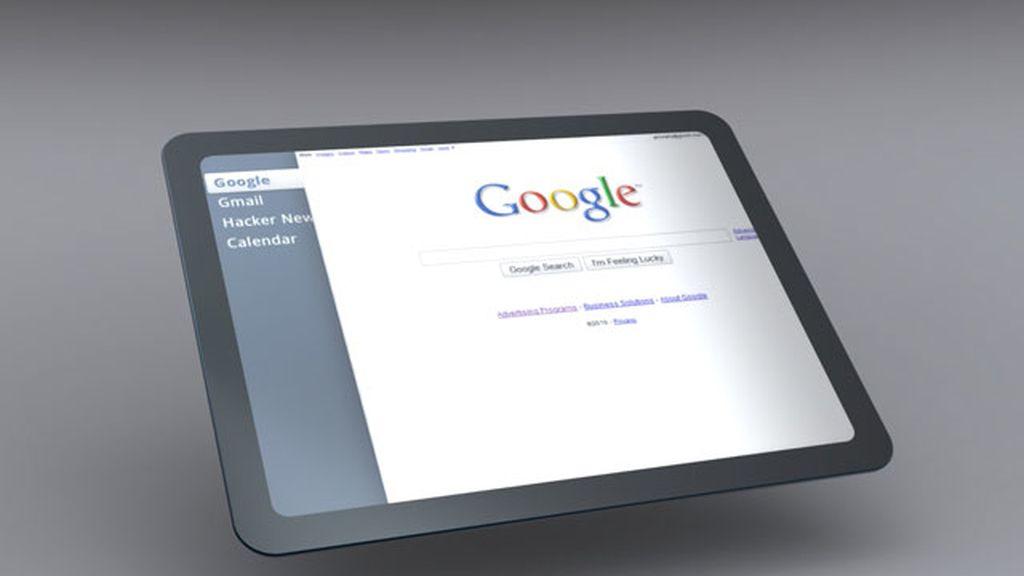 Google tablet, tableta buscador