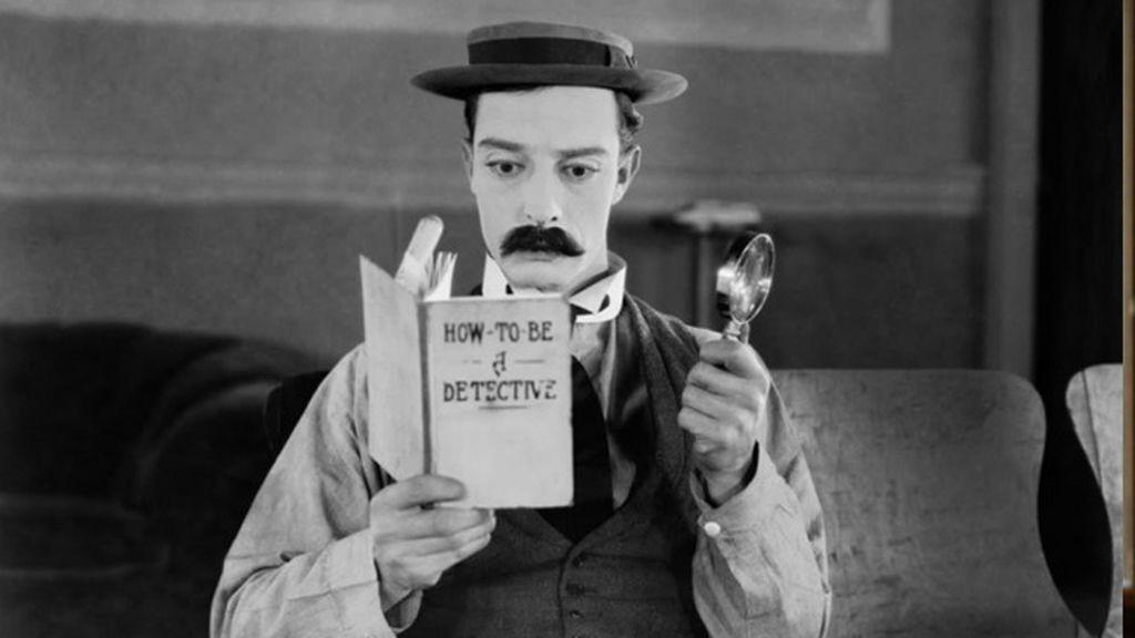 Buster Keton, el aprendiz de Sherlock mudo
