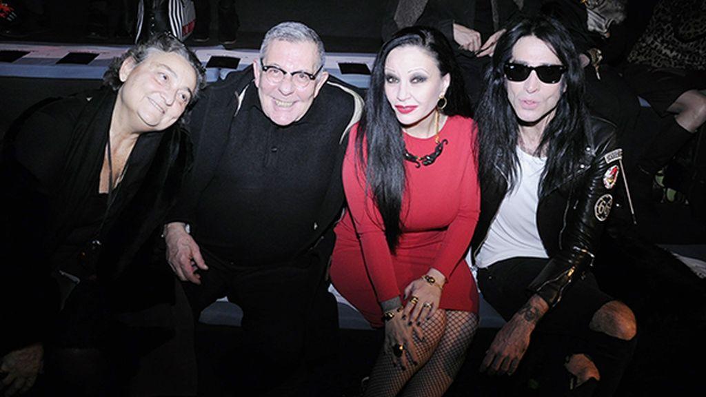 Elena Benarroch, Juan Gatti, Alaska y Mario Vaquerizo