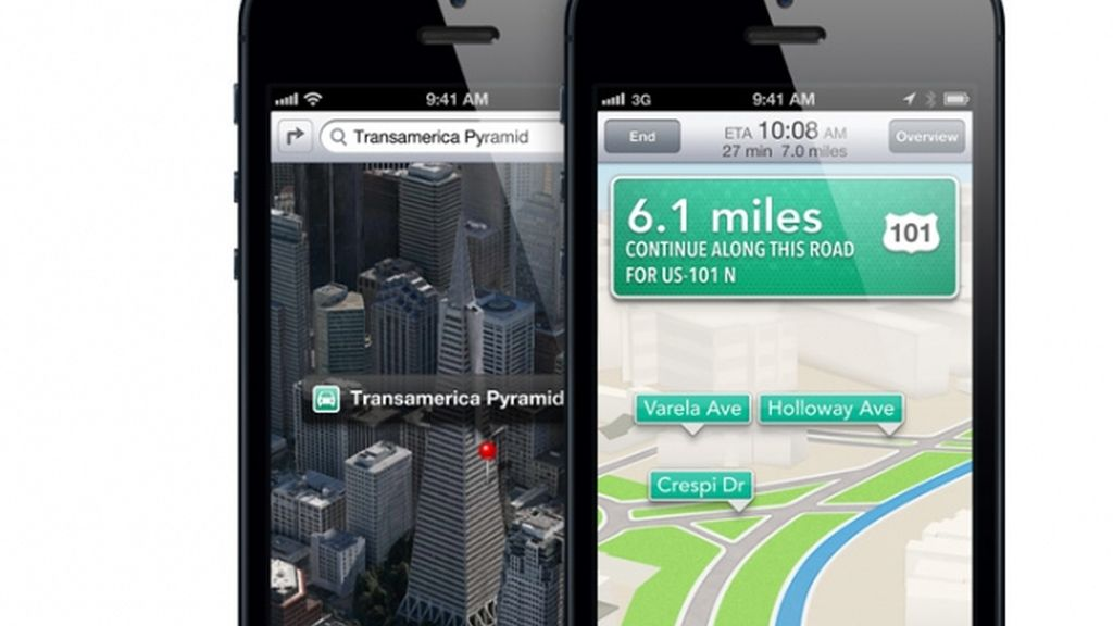 Google Maps vuelve a Apple