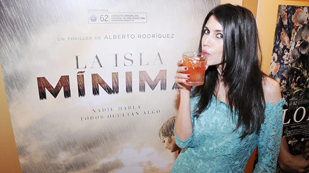"""Nerea Barros brindó con nosotros por el éxito de la que, sin duda, es una de las grandes películas españolas de los últimos años, """"La isla mínima"""""""
