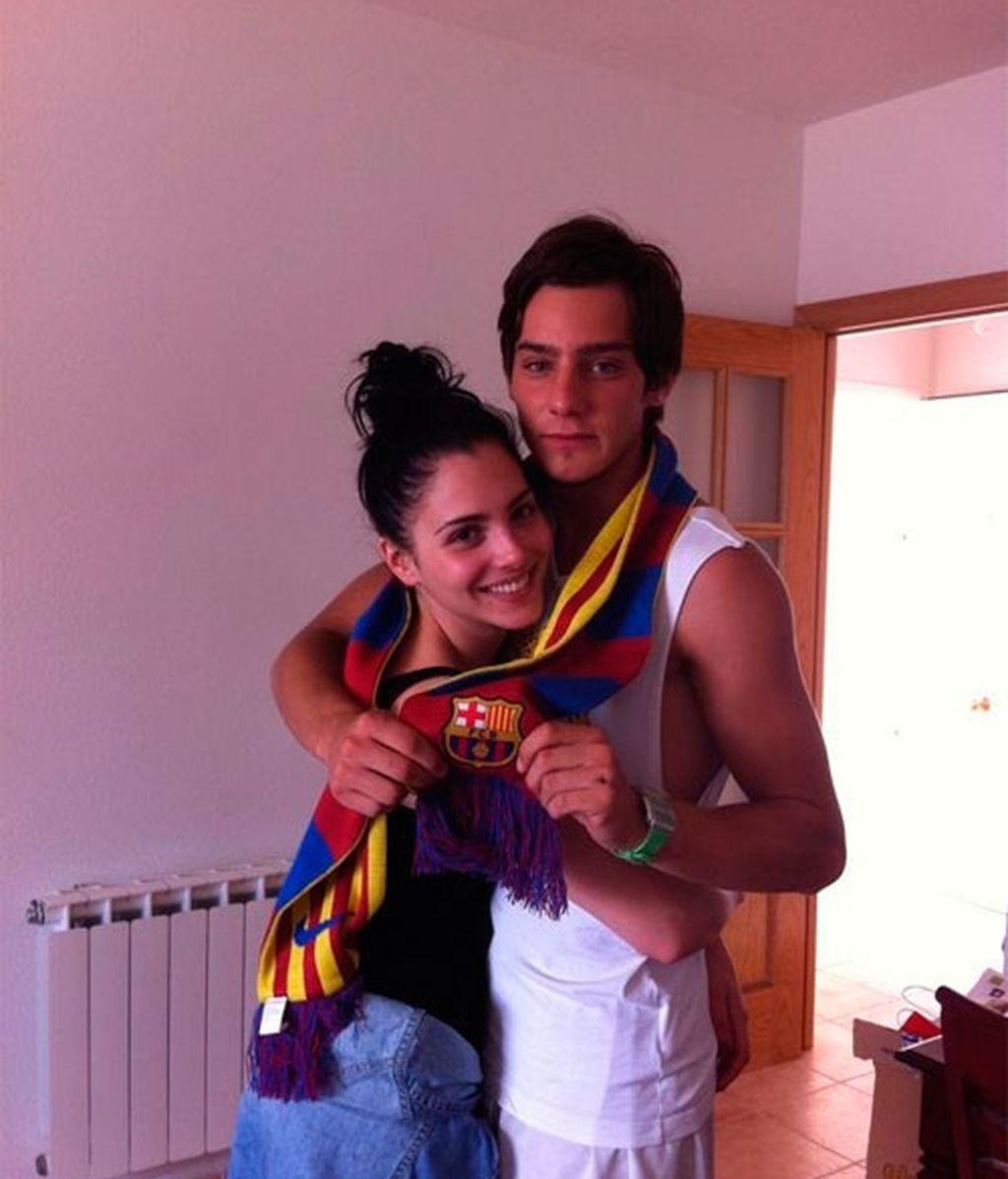 La relación de Joel Bosqued y Andrea Duro, foto a foto