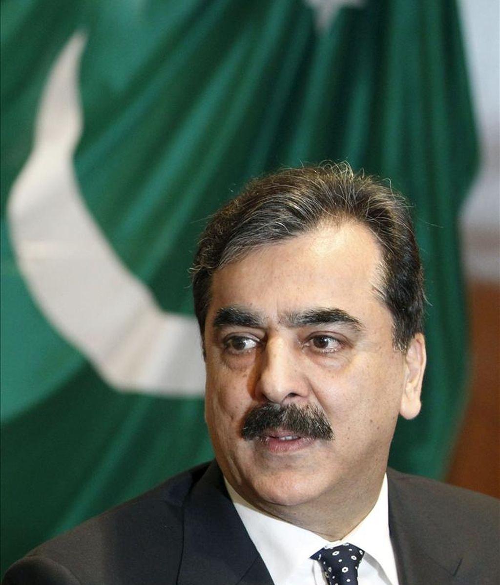 El primer ministro paquistaní, Yusuf Razá Guilani, descartó hoy efectuar una enmienda de las leyes antiblasfemia. EFE/Archivo