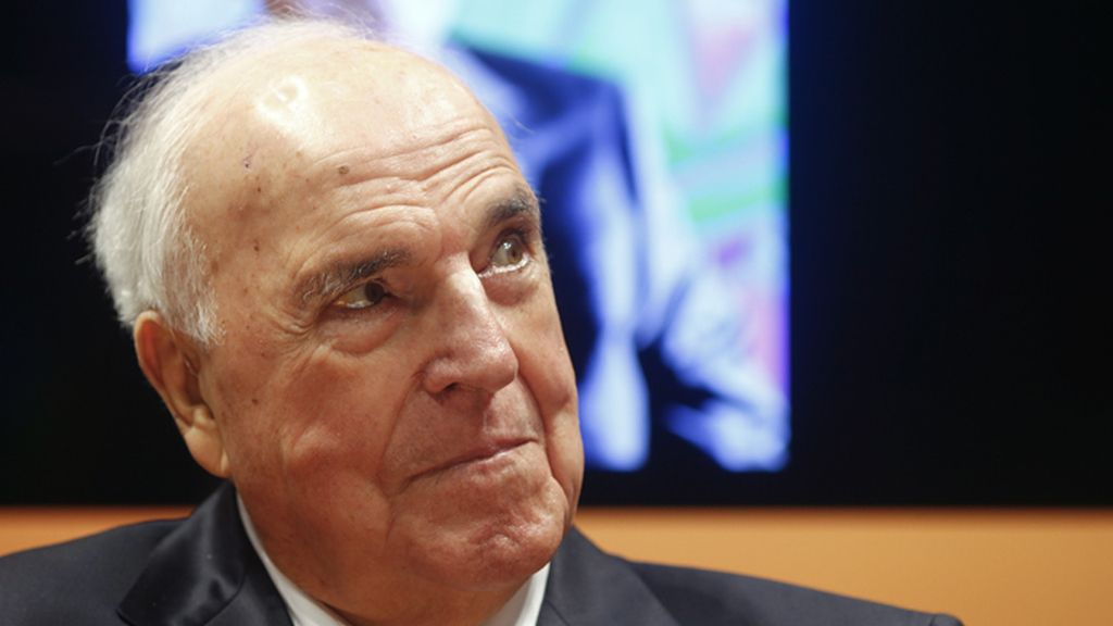 Helmut Kohl, excanciller de Alemania