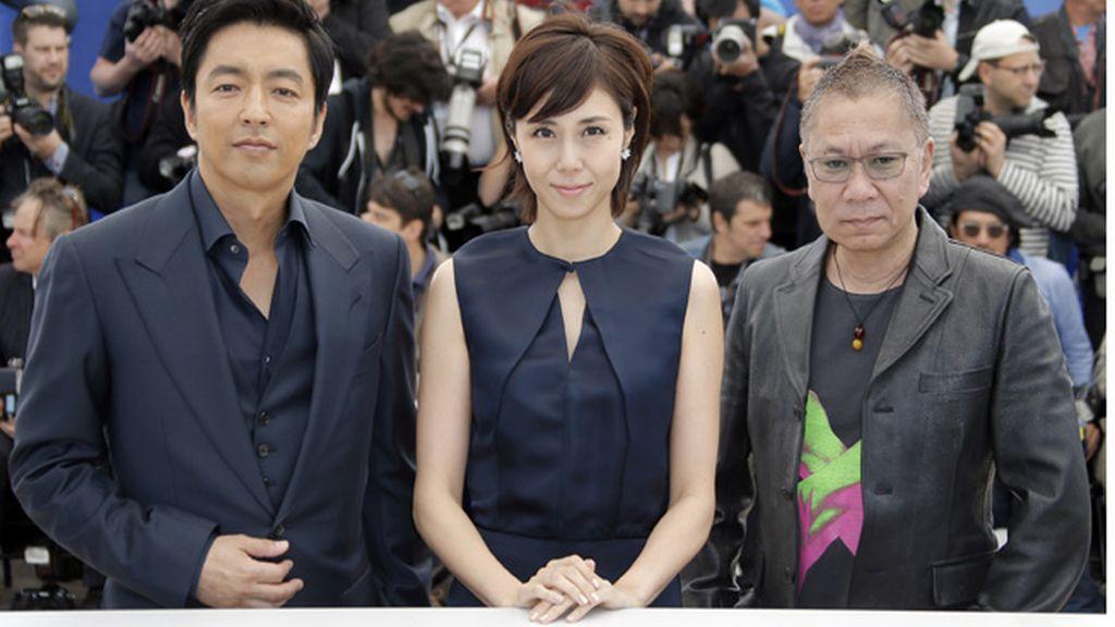 Takashi Miike, Nanako Matsushima, y Takao Osawa