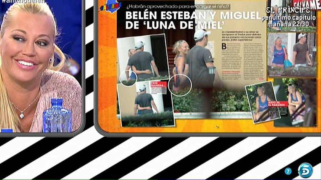 Belén Esteban disfrutaba de su particular 'luna de miel' con su chico, Miguel
