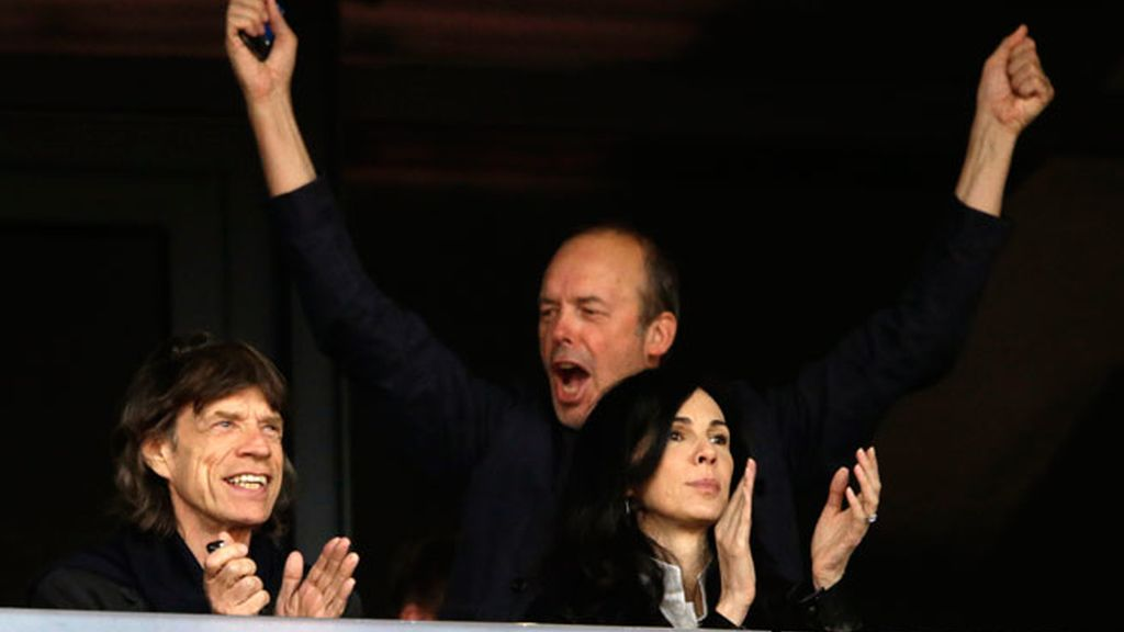 Mick Jagger aficionado al atletismo