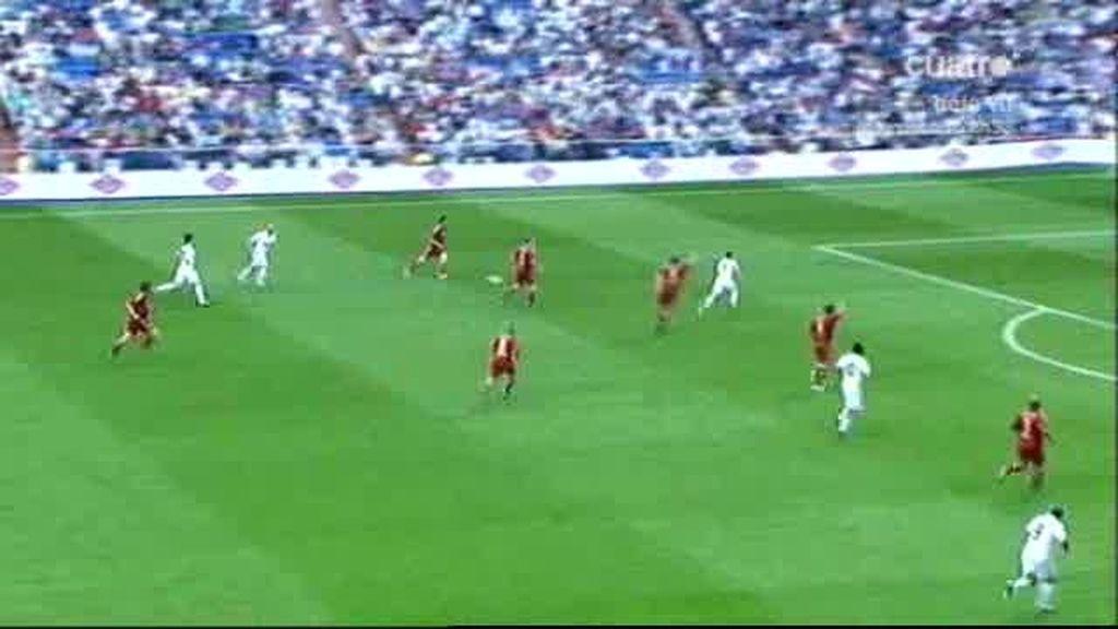 Zidane volvió a jugar en el Bernabéu