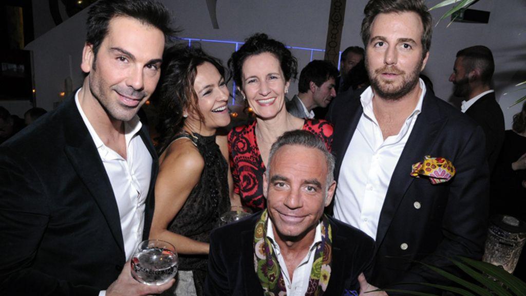 Manuel Zamorano, Mercedes Rodríguez, Mila Nieto, Joaquín Torres y Raúl Prieto