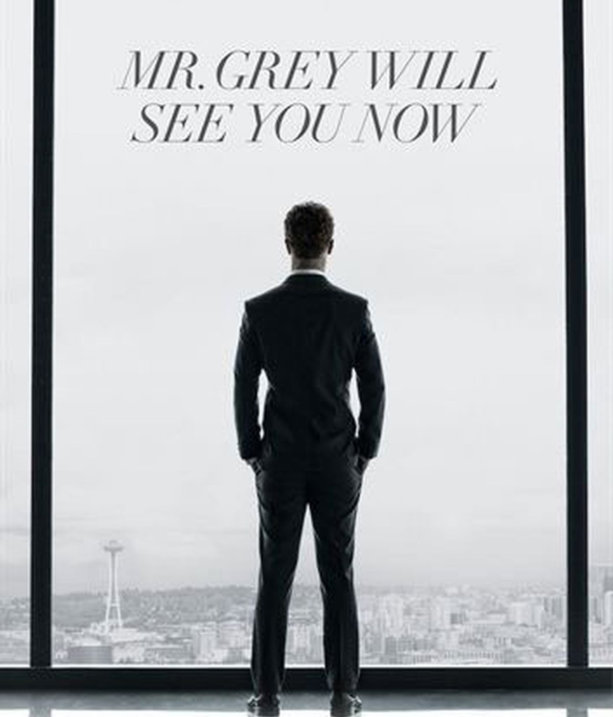 Primer poster oficial de '50 Sombras de Grey'