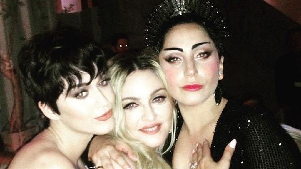 Madonna disfruta de la noche tras la gala MET