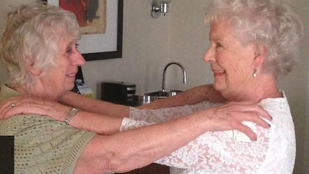 mellizas, Ann Hunt, Elizabeth Ann Hamel, reencuentro, 78 años