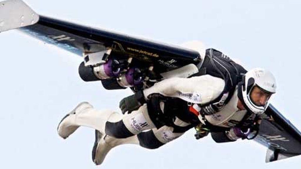 'Jet-man'