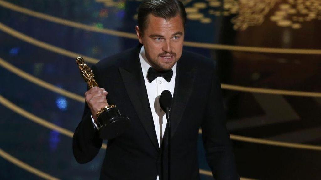 Leonardo Di Caprio gana el Oscar al mejor actor