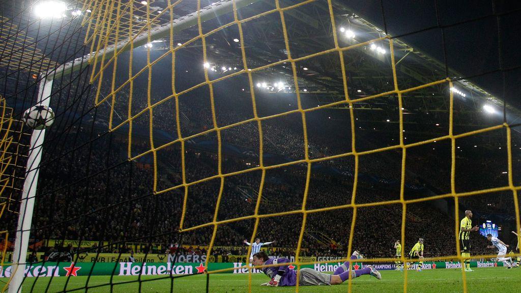 El Dortmund rompe el sueño del Málaga